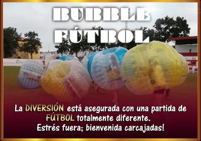 Bubble futbol | Despedidas en El Puerto y Conil