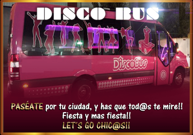 Disco Buss | despedida de soltera y soltero en El Puerto y Conil